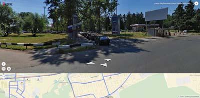 На пересечении улиц Карбышева, Твардовского и Некрасова- Военно Технический Университет