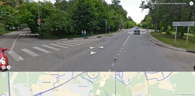 Разинское шоссе, улицы Евстафьева и Сергея Есенина