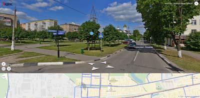 проспект Ленина, площадь Александра Невского и Храм