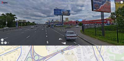 Обзор с энтузиастского шоссе на Владимирский тракт и Мой ДОМ