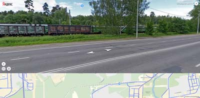 ЖД станция Горенки на Объездном шоссе, далее оз. Мазуринское и Дилево