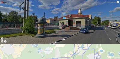 Железнодорожная станция Балашиха на Советской улице