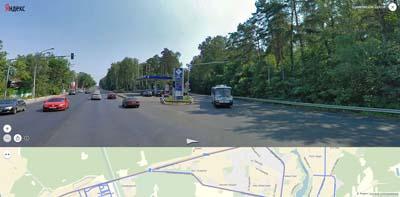 Разветвление на Щёлковском шоссе А103. В сторону Балашихи- Балашихинское шоссе, мкр. Гагарина слева, далее Лесной городок