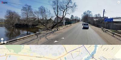 Саввинская улица проходит близ пляжа на речке Чёрной, посередине Саввинских прудов