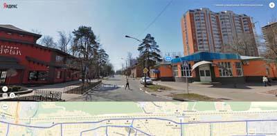 Соединение улиц: Жилгородок, Некрасова и Главной. Кайфын ресторан и палатка