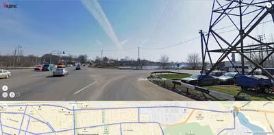 улица Агрогородок, плотина реки Чёрной