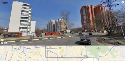 улицы Калинина, Пионерская, Луговая- далее Пестовский лесопарк