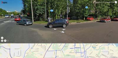 Впадение Садовой улицы Юбилейного в Болшевское шоссе