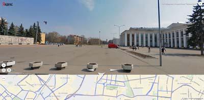 Улицы: Октябрьская и Терешковой