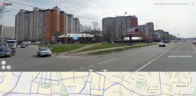 проезд Космонавтов сообщается с улицами Горького, Макаренко.