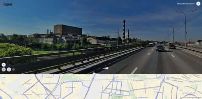 Ярославское шоссе, новая трасса над железной дорогой в Москву