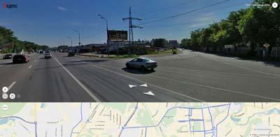 Въезд с Ярославского шоссе в наукоград Королев