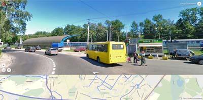 улица Селезнёва близ платформы Тайнинской ул. Калинина