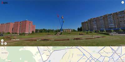 пересечение у 9-го мытищинского мкр. улиц Мира и Юбилейной памятник Водопроводу