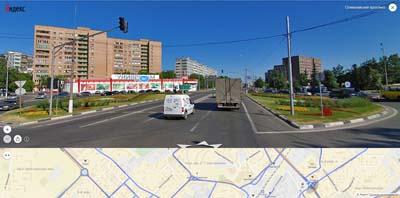 Олимпийский проспект универмаг Альта, слева Химгородок, справа им. Колонцова