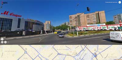 Фото Олимпийского проспекта в сторону 36-й мкр. А, Альта М.видео, универсам