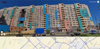 новостройки мкр. Шитникова, улица Комарова