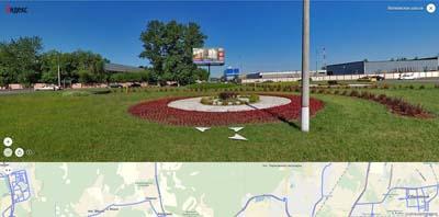 дорога на Пироговский лесопарк с волковского шоссе