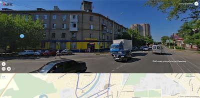Трамвайные пути на улице Климова