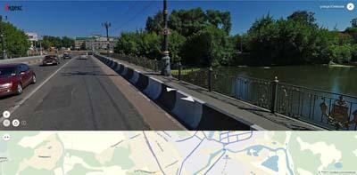 мост через Клязьму по ул. Климова