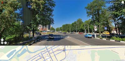 Круговой перекрёсток: ул. Климова, Комсомольская, 3-его Интернационала, шоссе Энтузиастов