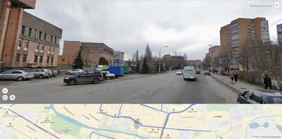 Талсинская улица- слева здание Щелковского Узла Связи, Абриколь. Далее мкр. Сиреневый.