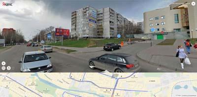Комсомольская улица, Сбербанк. Выше Глобус, Касторама, КОМОД