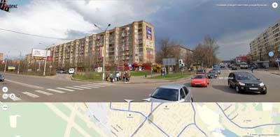 Перекрестье: Полевая и Советская улица с пр-том Мира.