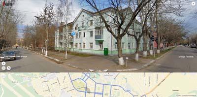 Комсомольская и Ленина улицы