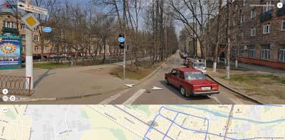 пересечение щёлковских: Центральной ул. и Пушкина