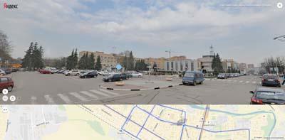 Щёлковская площадь Ленина, кинотеатр аврора 5(Пять) звёзд, городская администрация
