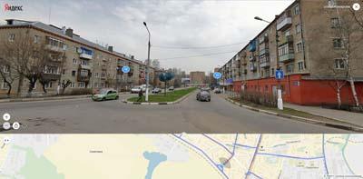 улица Комарова, вид с Первомайской