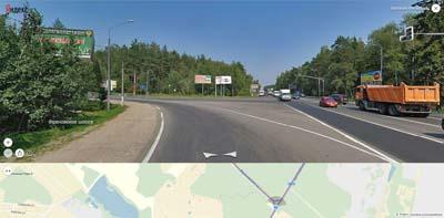 поворот на щелково с щёлковского шоссе