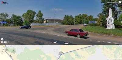 дорога на хотово у аэродрома Чкаловский
